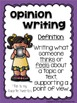April Writing Prompts: Opinion, Informative, Narrative: 3-5