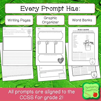 Writing Prompts for Second Graders | April Themes