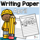 April Writing Prompts & Paper