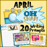 April Writing Prompts - Spring Writing Prompts - April Activities- Easter