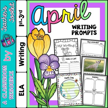 April Writing Prompts {UK Teaching Resource}