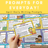 April Writing Prompts for National Holidays w/ Google Classroom Option