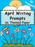 April Writing Prompts - April Themed Writing Prompts Journal (Gr. 3-5)