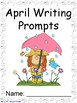 April Writing Prompts on Themed Paper {Just Print & Go!}