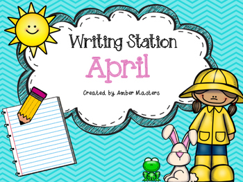 April Writing Station