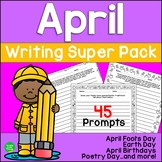 April Seasonal Writing Prompts