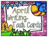 April Writing Task Cards Freebie