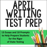April Writing Test Prep & ELA Paired Passages for Upper El