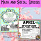 April and Easter Bundle: Math, SS, and ELA Activities for Grades 3-5