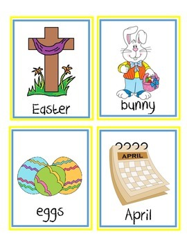April and May Vocabulary