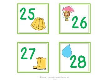 April calendar squares