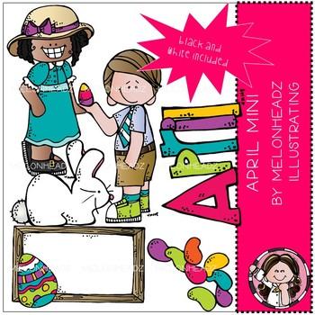 April melonheadz. Clip art mini clipart