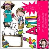 April clip art - Mini - by Melonheadz