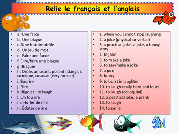 French April fools' day full lesson for beginners