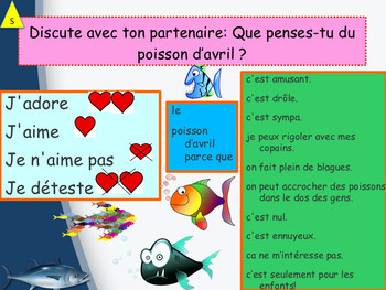 French April fools' day interactive activities and printables