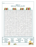 April is National Poetry Month Word Search
