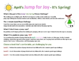 April's JUMP FOR JOY - IT'S SPRING (30-Day Jump Rope Challenge)