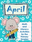 April~Math & Literacy for Primary Grades-Poetry, Idioms, Earth Day, Easter
