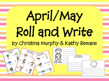 April/May Roll and Write