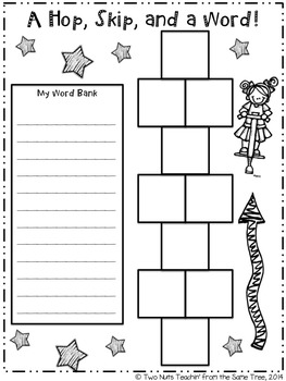 Word Study and Interactive Notebook: April/May