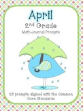 April/Spring 2nd Grade Common Core Math Journal Prompts