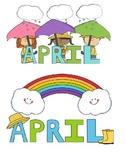 April/Spring Word Wall