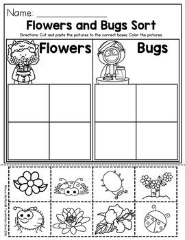 April NO PREP Packet (Preschool)