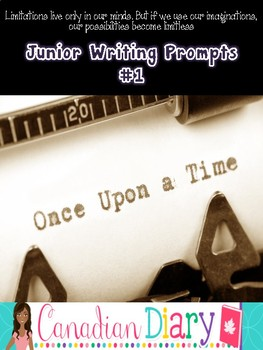Writing Prompts (No Prep) Package 1 - Descriptive, Persuas