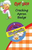 Apron Reward Badge - Cracking Eggs - How to Cook with Chef Louie