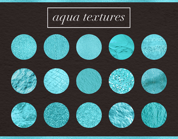 Aqau Blue Textures, Beautiful Aqua Backgrounds, Texture Pack