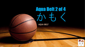 "Aqua Belt Unit 2 of 4 ""Subjects Flashcards"" [Saved By the Bell]"