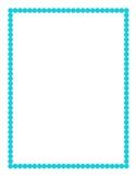 Aqua Border Clipart