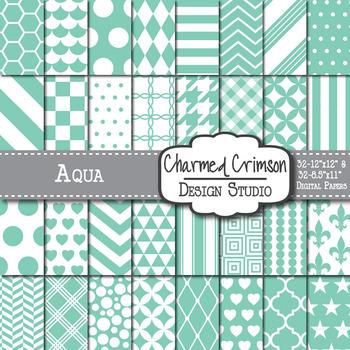 Aqua Digital Paper 1017
