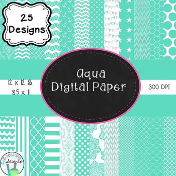 Aqua Digital Paper