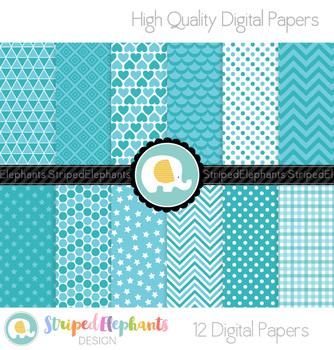 Aqua Digital Papers