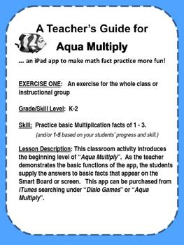 Aqua Multiply - learn math the fun way