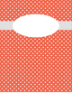 Aqua, Orange and Yellow Binder Covers with 1.5'' Sides