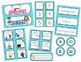 Aqua Ric-Rac Classroom Theme Essentials