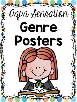 Aqua Sensation Genre Posters