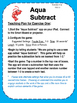 Aqua Subtract - learn math the fun way
