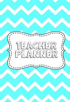 Aqua Teacher Planner