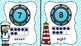 Aqua and Navy Nautical Numbers Posters- 1-32