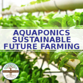 Aquaponics - Intelligent Technology Smart Farming, Modern Agriculture Technology