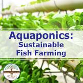 Aquaponics - Intelligent Technology Smart Farming, Modern Agriculture Technology