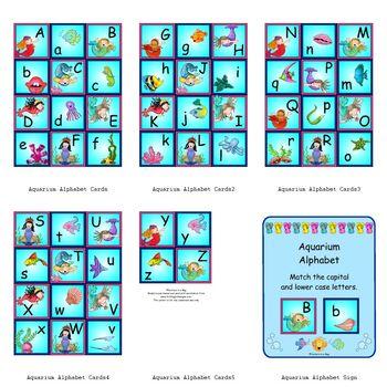 Aquarium Alphabet