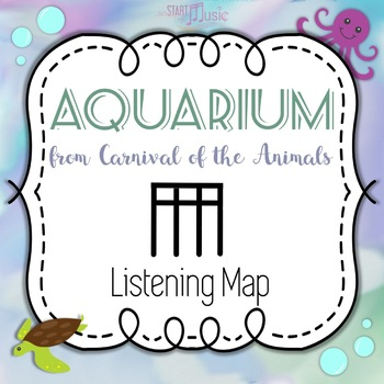 Aquarium (Carnival of the Animals) - Listening Map - Sixteenth Notes