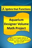 Math Project Aquarium Designer Volume of Cylinders,Cones S