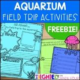 Aquarium Field Trip Activities FREEBIE!