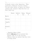 Aquarium Logic Puzzle