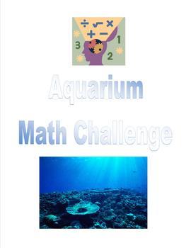 Aquarium Math Challenge- Addition and Subtraction